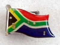 SA Flag Lapel Pin