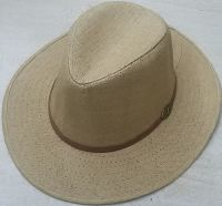 Ladies Straw Fedora Hat