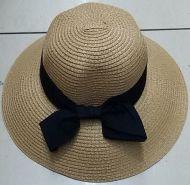 Summer Bow Straw Hat