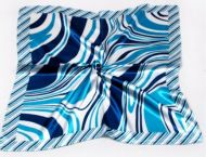 Waves Print Neck Scarf