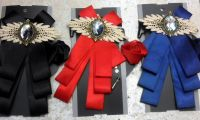 Ribbon Bowknot Brooch Pin Set
