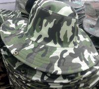 Green Camo Hat