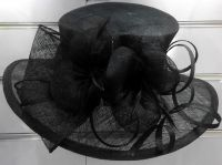 Black Church Hat