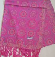 Circles Print Pashmina