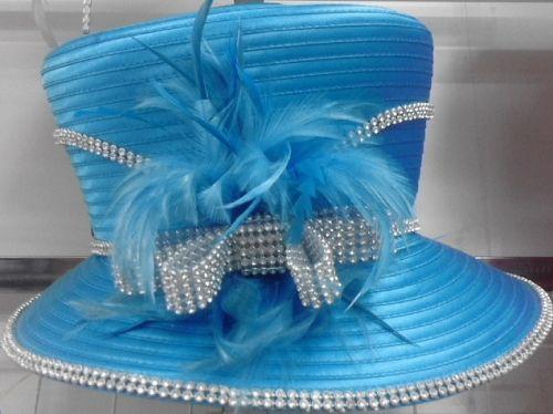 Satin Dress Hat