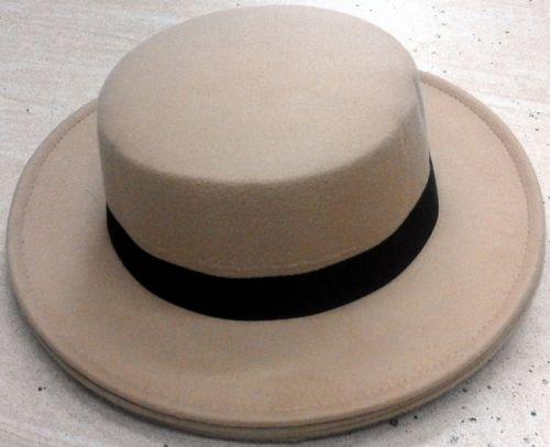 Felt Boater Hats