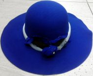 Ladies Floppy Felt Hat