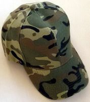 Army Green Camo Cap