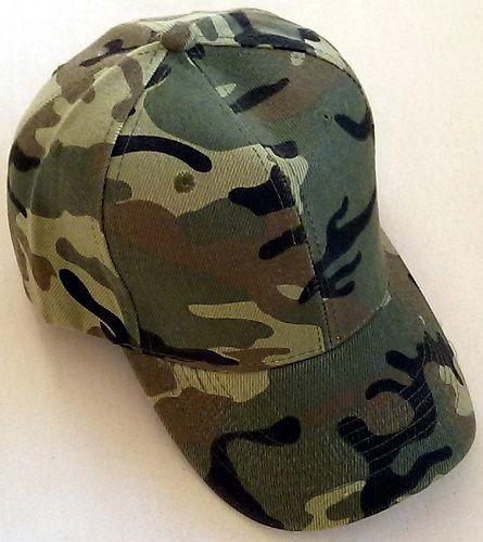 Army Print Caps