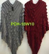 Pleated Fashion Poncho