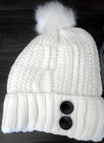 Box of Knitted Beanies