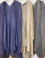Jacquard Pattern Cotton Kimono