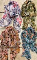 Floral Patterned Scarves