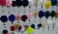 Floral Lapel Pins