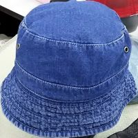 Navy Denim Bucket Hat