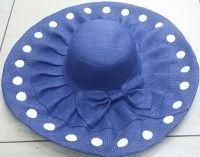 Polka Dots Beach Hat