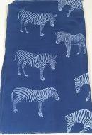 Zebra Stripe Print Sarong