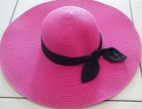 Summer Bow Straw Hat
