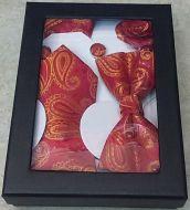Paisley Tie Bow Tie Gift Set