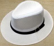Straw Panel Hat