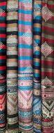 Ladies Striped Shawls