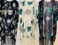 Tassel Viscose Kimonos
