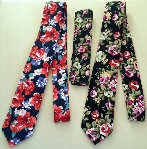 Floral Ties