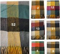 Winter Wool Shawls
