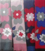 Ladies Floral Cashmere Scarf